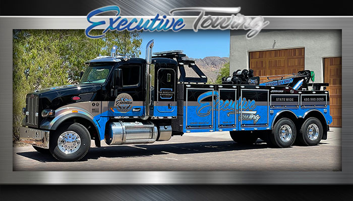 heavy duty towing - Executive Towing