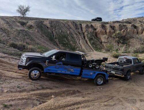 Camper Towing in Mesa Arizona