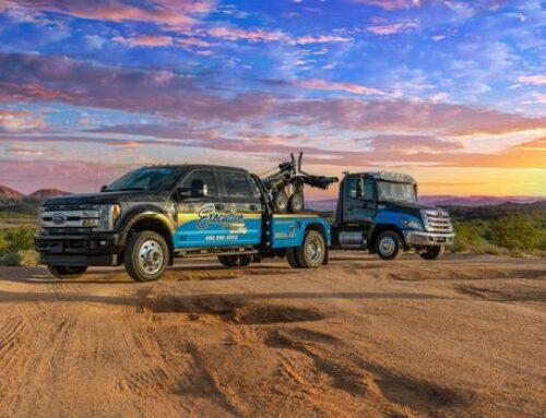 Semi Truck Towing in San Tan Valley Arizona